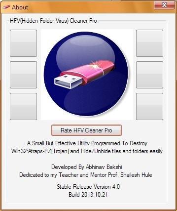HFV (Hidden Folder Virus) Cleaner Pro download | SourceForge net