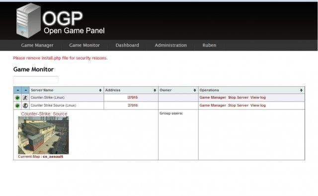 Open Game Panel Download Sourceforge Net
