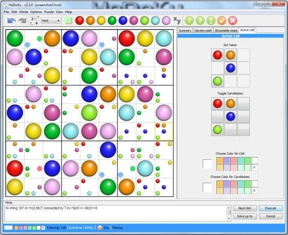 Sudoku for Java - HoDoKu download | SourceForge net