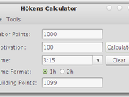 Multi-platform compatible! Höken's Calculator runs on almost every system, as long as you have Java SE6 or higher installed. Because of this, it runs perfectly on Linux!