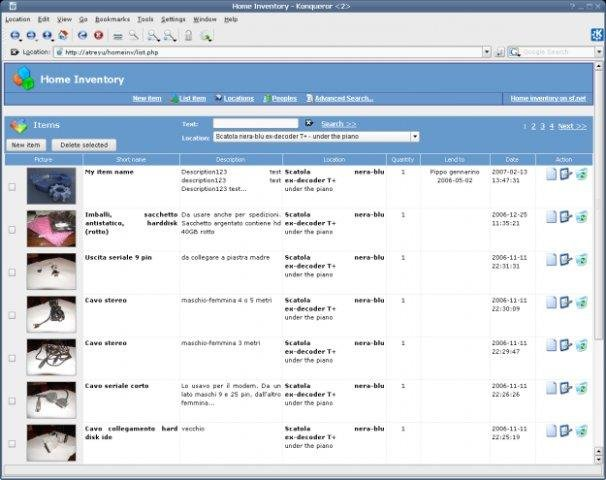 Home inventory download | SourceForge net