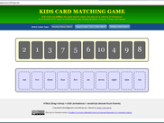 HTML5 Kids Card Game