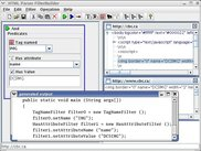 FilterBuilder tool GUI and generated java code.