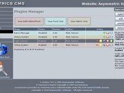 Administration Plugins Manager