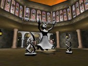 This is the HOF area of the 3d game example