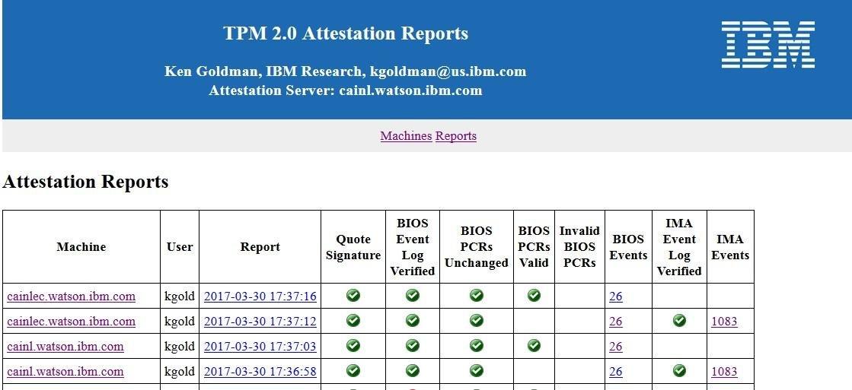 IBM TPM Attestation Client Server download | SourceForge net