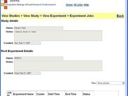 IBVRE View Experiment Jobs