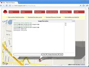 sample3: MapChat, integration with Google Map (2/2)