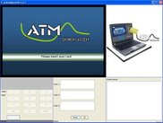 ATM Simulator - Insert Card Screen Sample