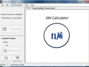 CalCalculator Using IiM Library: IiM Calculator Welcome Page