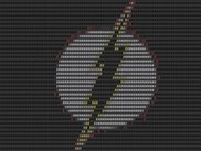 Flash *character* logo - rendered.