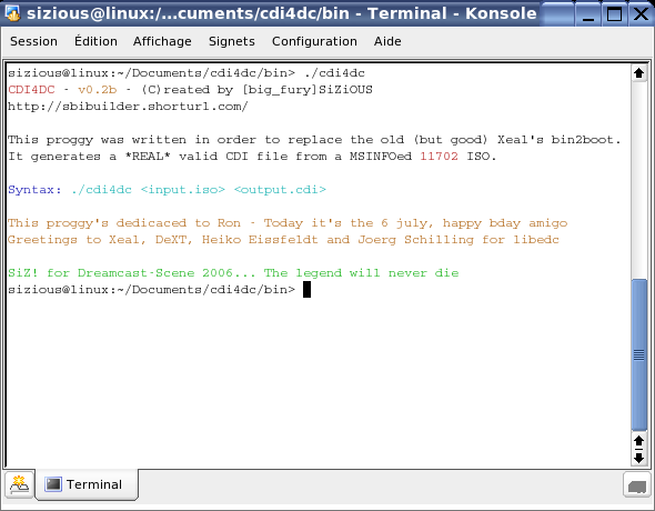 bin2boot 64 bits