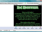 IM Sniffer 1.0 - Main Page