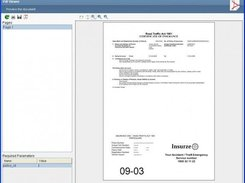Previewing generated PDF documents within Inforama studio