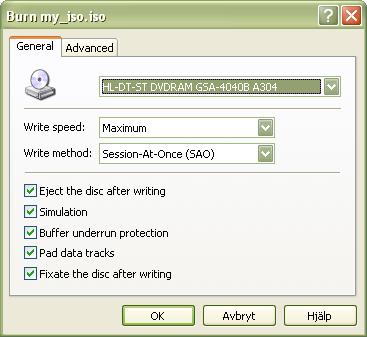 InfraRecorder (x64bit) screenshot