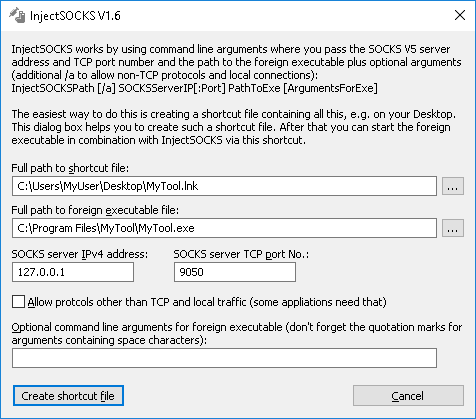 InjectSOCKS download   SourceForge net