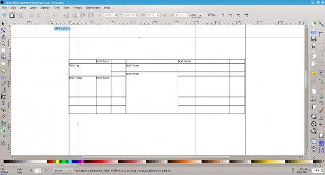 Inkscape Table Support download | SourceForge net