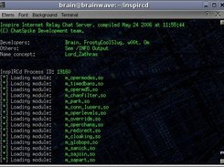 Linux Console InspIRCd 1.0