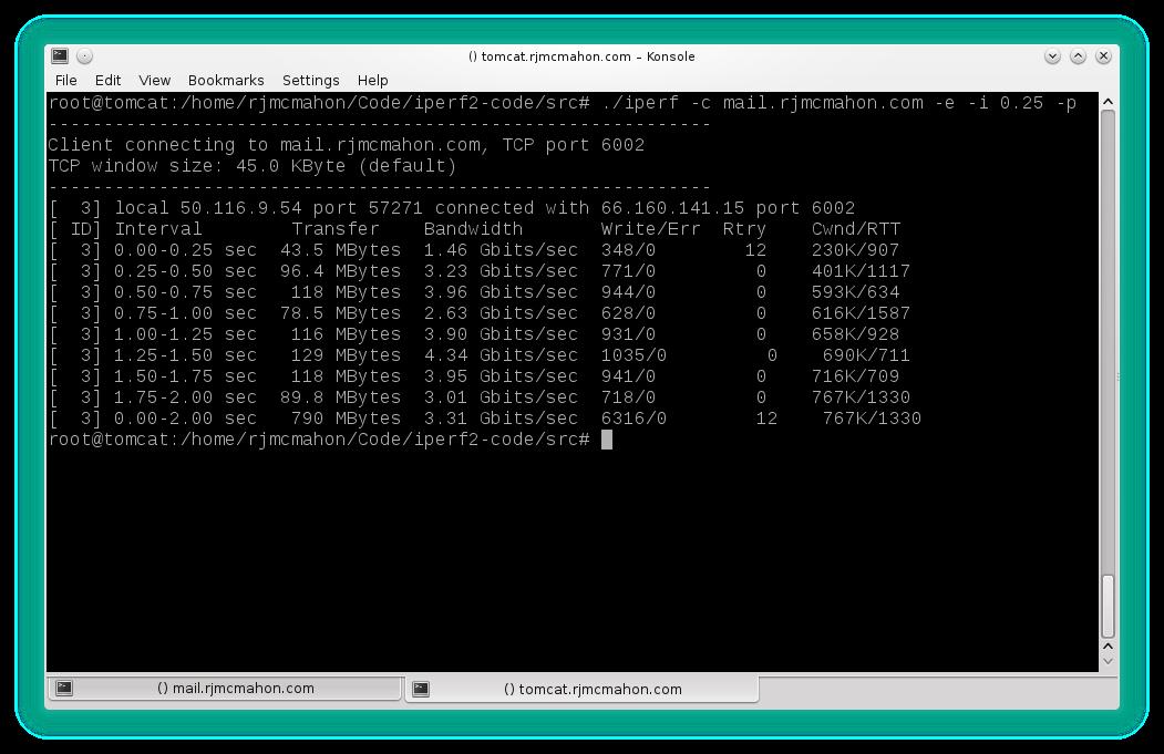 iperf2 download | SourceForge net