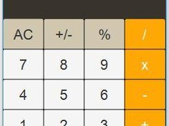 IPhone Calculator For Windows download | SourceForge net