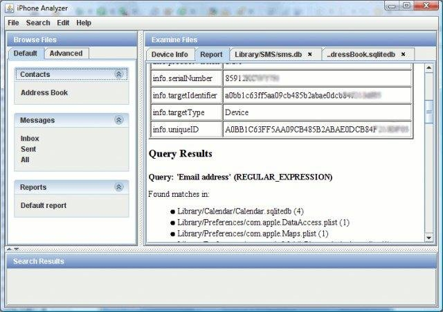 IPhone Analyzer download | SourceForge net