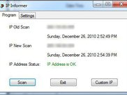 Scan results with matching IP Address