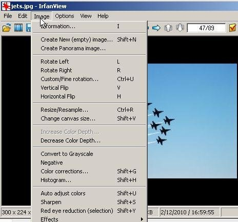 IrfanView download | SourceForge net