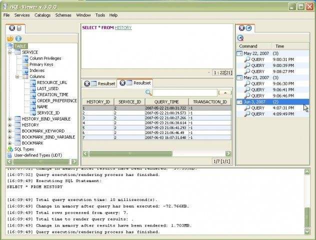 iSQL-Viewer download | SourceForge net