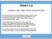 iThink - About (GPL3 License)