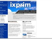 Ixprim CMS homepage
