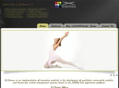 XOOPS and ImpressCMS Theme ixt03208 Ballet Release 4.5
