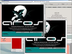 Janus-UAE 1.4 running AROS/68k transparent in AROS/x86