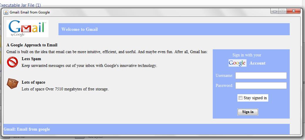 Java Mail Client download   SourceForge net