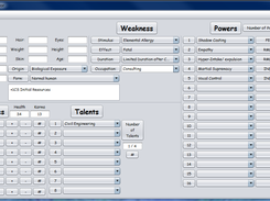 Java Marvel Character Creator download | SourceForge net