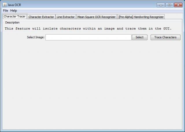 Java OCR download   SourceForge net