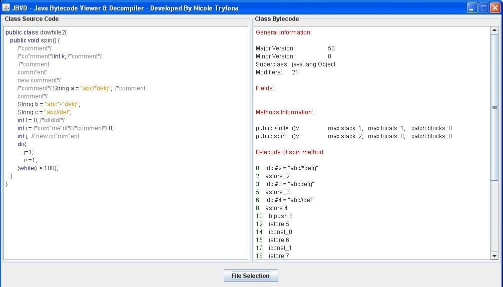 JBVD - Java Bytecode Viewer & Decompiler download