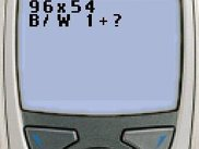 "The program ""dpyinfo"" on the Nokia 6310i Emulator."