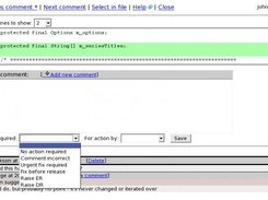 6. Comment popup - reviewing comments in review meeting
