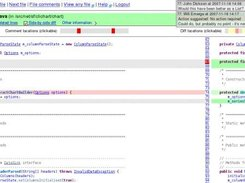 4. File page - showing diffs and line with comments