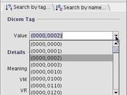 Search by tag in combo (Linux - English)
