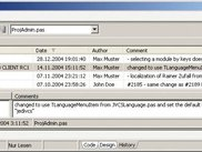 Delphi 2005/2006 History View integration