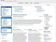 Joomla! 1.5 Website (Frontend)