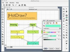 JHotDraw 7 Draw sample application with MDI interface