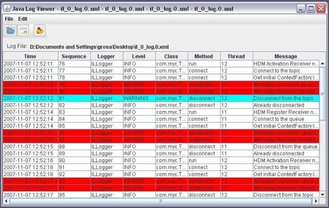 Java Log Viewer download | SourceForge net