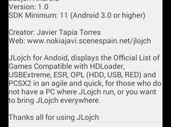 JLojch Android download | SourceForge net