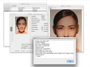Portrait details on Mac OS X