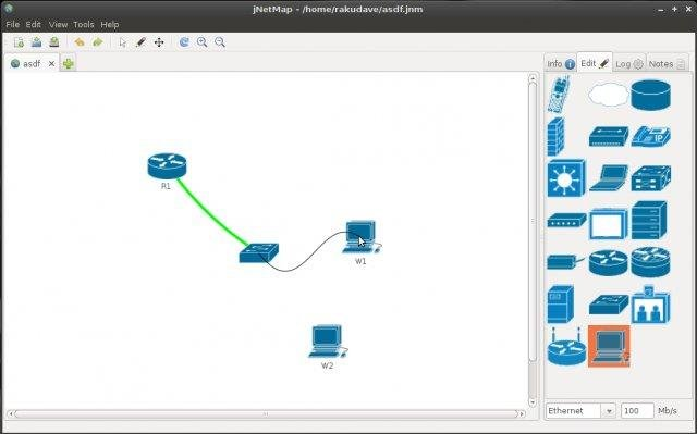 JNetMap Download SourceForgenet - Graphical network mapping tool