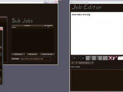 A General screenshot displaying JobManagers many features
