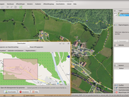 The Java OpenStreetMap Editor using the Joxy look and feel