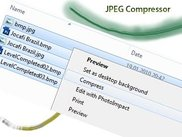 JPEG Compressor and the integration with Windows Explorer